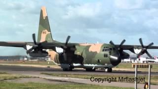 Algeria Air Force C-130H Hercules {7T-WHE} HEATHROW FLIGHT DEPARTURES Plane Spotting Guide