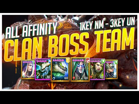 RAID | My Boss Team | 3 Key Ultra | 1 Key NM | Auto All Affinity