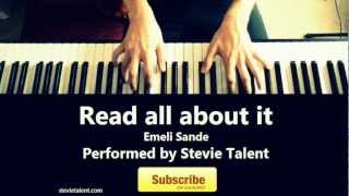 Emeli Sande Read All About It Part III Piano Version by Steve vom Wege