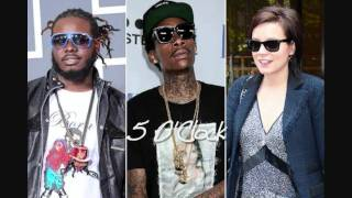 T-Pain ft Wiz Khalifa & Lily Allen - 5 O'Clock (sped up)