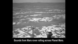 NASA - Sounds from Mars rover rolling across Planet Mars