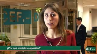 Opinión alumna de oposiciones en CEF