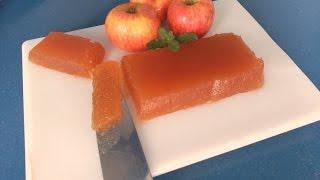 Dulce de Manzana en el Microondas