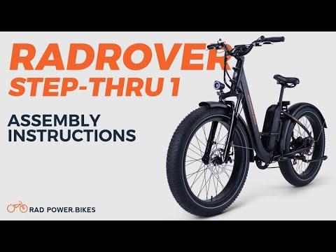 RadRover Step-Thru 1 Assembly Instructions   Rad Tech