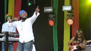 "Pressure Busspipe Live @ Reggae Geel 2015 ""V.I. So Nice"""