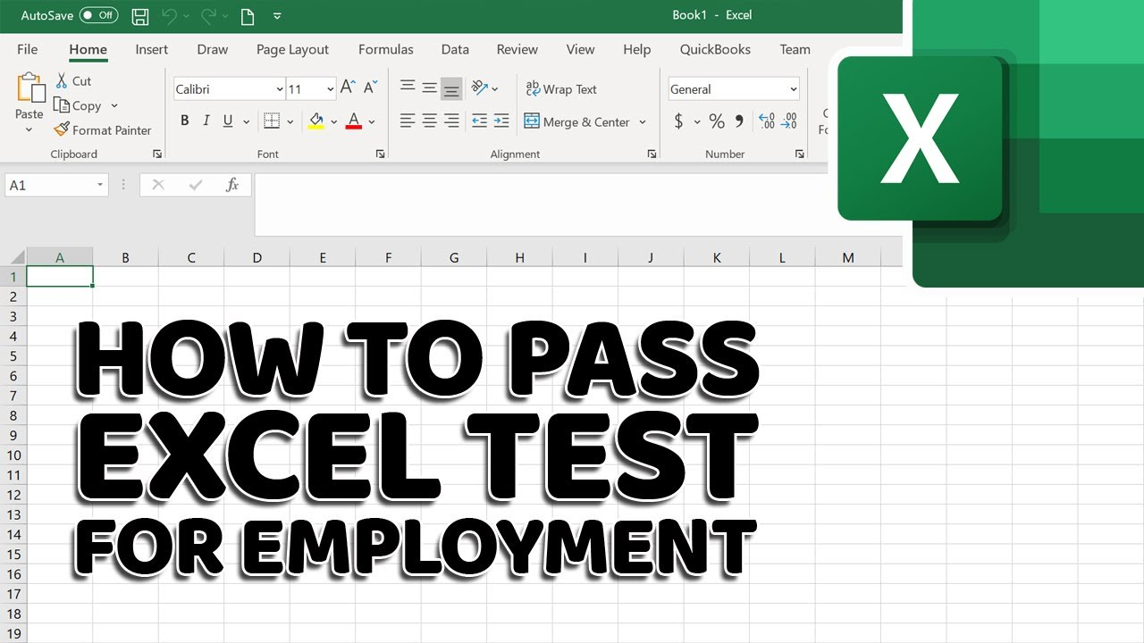 How to Pass Excel Assessment Test for Job Applications