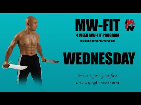 MW-Fit Fitness Training Wednesday | Master Wong