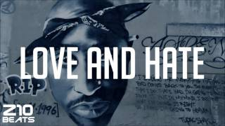 Dr Dre type beat - 2Pac type beat - West Coast G-Funk instrumental - LOVE AND HATE - prod. Z10Beats
