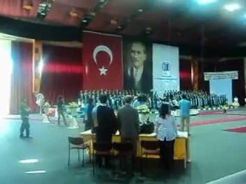 eskişehir osmangazi üniversitesi tıp fakültesi 2012 yılı mezuniyeti yemin töreni