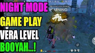 Night mode play and booyah|| Free fire tricks || Run Gaming🎮