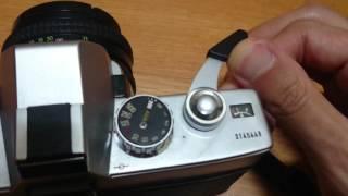 minolta srt100 film camera shutter sound