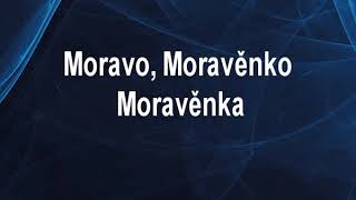 Moravo Moravěnko (EV) - Moravěnka Karaoke tip
