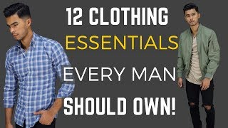 12 Clothing Items Every Man Should Own