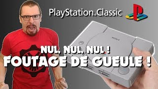 vidéo test Sony Playstation Classic par Bibi300
