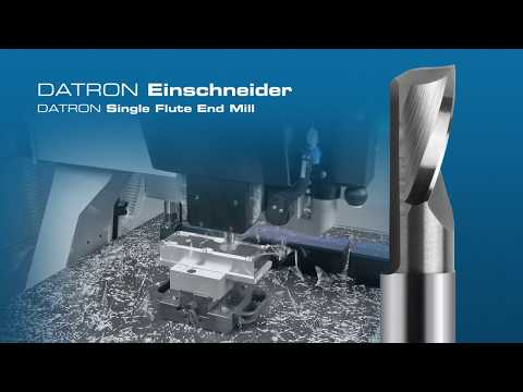 DATRON Milling Tools for High-Speed Milling