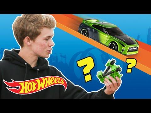 Hot Wheels 5x5 Lane Showdown with Tanner Fox! | Hot Wheels Unlimited | Hot Wheels