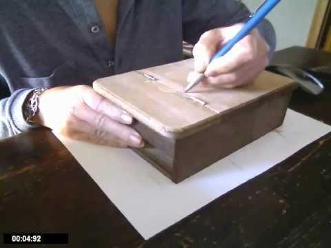 Come fare un portagioie in legno fai da te mania - Costruire un portagioie ...