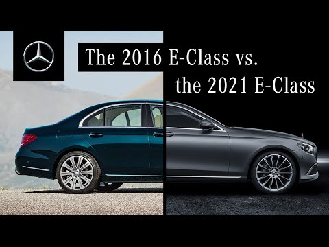 Comparing the E-Class (2021) to Its Predecessor – What's New?