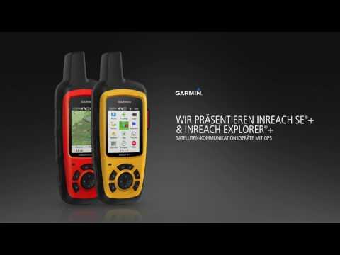 inReach SE®+ und inReach Explorer®+ - globale Satelliten-Kommunikationsgeräte für Abenteurer