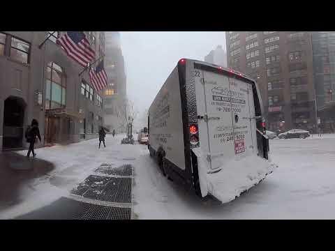 It's snowing (360 video) #BombCyclone #blizzard2018 @adafruit