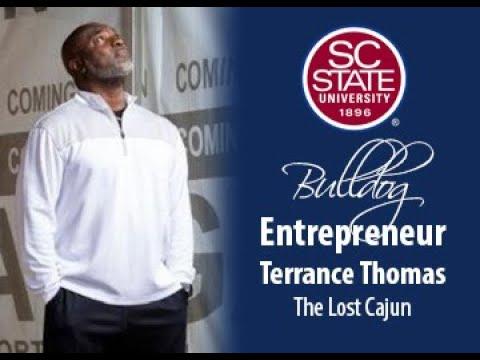 """SC State Celebrates """"Bulldog Entrepreneur�—Terrance Thomas"""