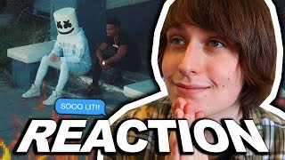 Marshmello x Roddy Ricch - Project Dreams (Official Music Video) REACTION