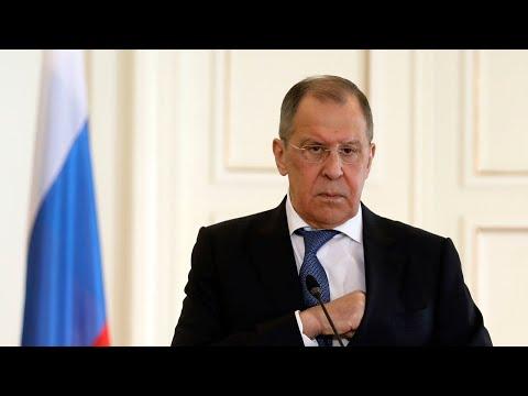 Пресс-конференция Сергея Лаврова по итогам года. Прямая трансляция