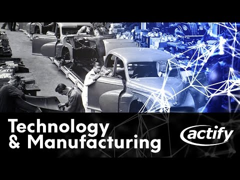 Technology and the Connected Manufacturing Industry - Webinar