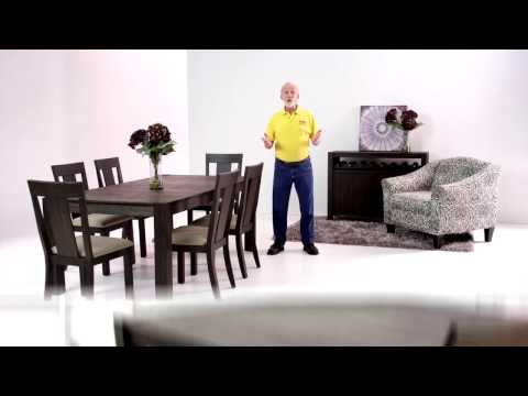 Summit Dining Table and Chairs Set | Bob's Discount Furniture