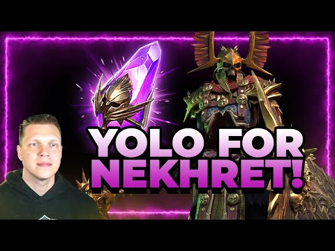 ChoseN YOLO's for Nekhret! Voids til Leggo! | RAID Shadow Legends