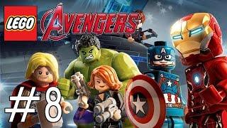 Lego Marvel's Avengers Part 8 Walkthrough Playthrough Gameplay (PS4/XboxOne/PS3/Xbox360)