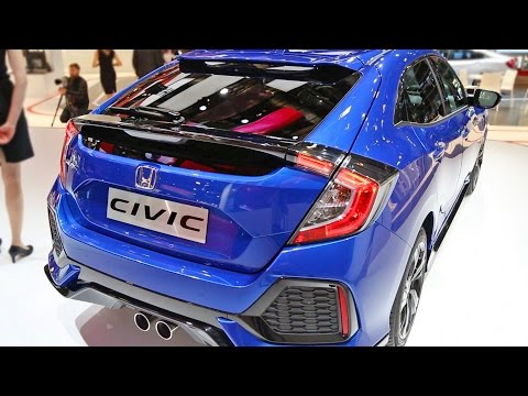 NEW 2017 Honda CIVIC Hatchback - Interior and Exterior Walkaround