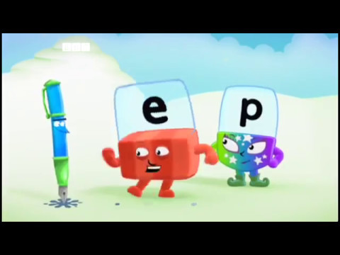 Alphablocks E - Pen - YouTube
