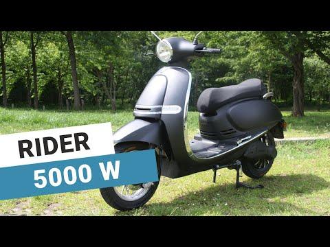 Scooter électrique 125 : présentation du Rider 5000 watts de Go2roues