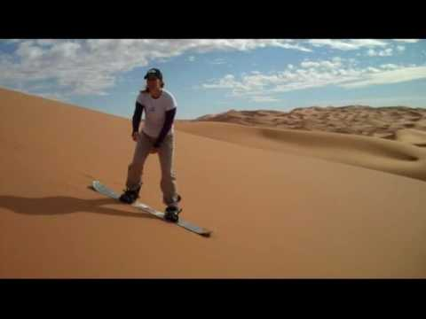GoErinGo: Sand Boarding the Sahara