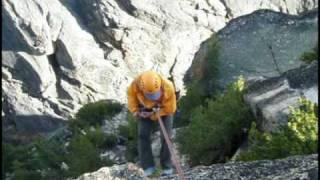 Climbing Liberty Bell Spire North Cascades