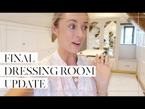 THE FINAL DRESSING ROOM UPDATE + A WEEKEND WITH FRIENDS // Fashion Mumblr Vlog