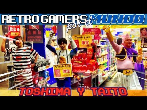 Tokyo #05: Toshima y Taito [Retro Gamers por el Mundo] 【4K】