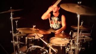 Travis Barker - Let's Go   Drum Cover // Adam Buchanan