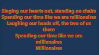 The Script - Millionaires Lyrics (Official) HD
