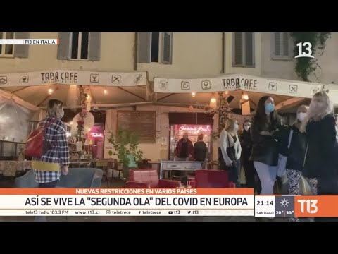 Europa: Así se vive la «segunda ola» del COVID-19