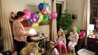 Suvi's 10th birthday party. Woo Woo!