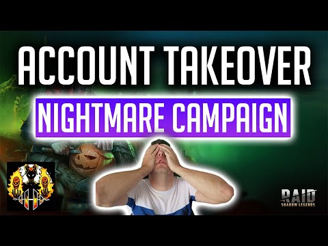 RAID: Shadow Legends | Nightmare Campaign & moving to endgame Dungeons Takeover!