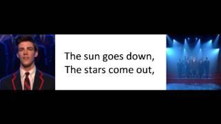 Glee - Glad You Came Lyrics
