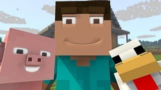 ♪ A Whole World Made for Me ORIGINAL MINECRAFT SONG by TryHardNinja M/V