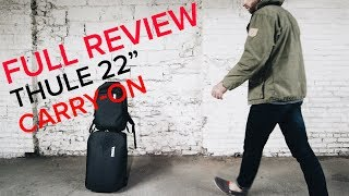 """FULL Review: Thule 22"""" Subterra Carry-On"""