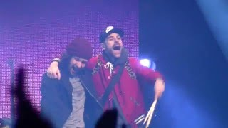 Macklemore & Ryan Lewis - Arrows /live/ @ Atlas Arena Łodź, Poland, 18.03.2016