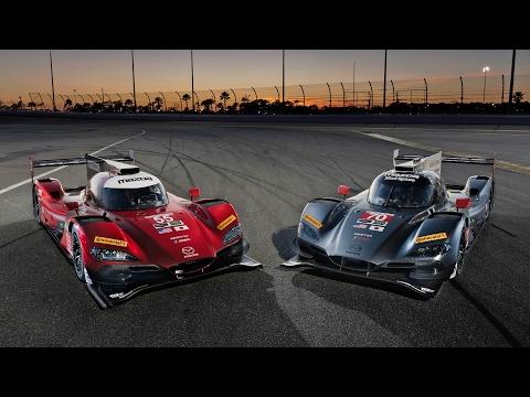 2017 Rolex 24 at Daytona with Mazda Motorsports