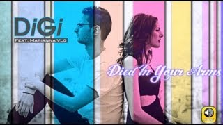 DiGi Feat Marianna VLG - Died In Your Arms Tonight ( Lyric Video )