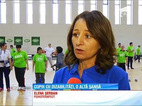 Sportul, disciplina care îi poate ajuta pe cei cu dizabilități mintale
